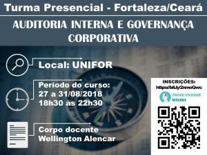 curso auditoria interna e governanca corporativa em fortaleza